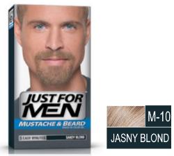 Just For Men – jasny blond żel koloryzujący do brody, wąsów, baków